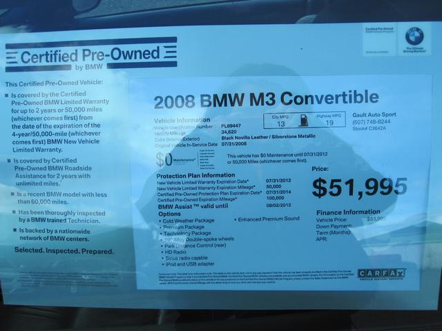 Image 77 of 2008 BMW M3 Base 8-Cylinder…