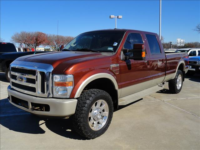 2008 FORD F350 LARIAT CREW CAB 4WD rustic brown beautiful and rugged ford f350 king ranch power wi