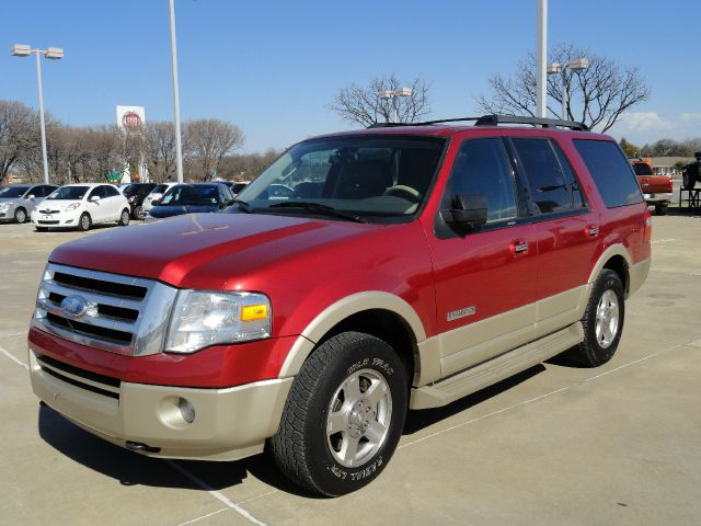 2007 FORD EXPEDITION EDDIE BAUER 4WD inferno red beautiful inferno red ford expedition eddie bauer