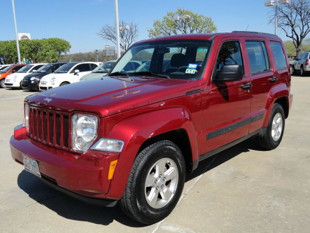 2011 JEEP LIBERTY SPORT 2WD inferno red beautiful inferno red jeep liberty with automatic transmis