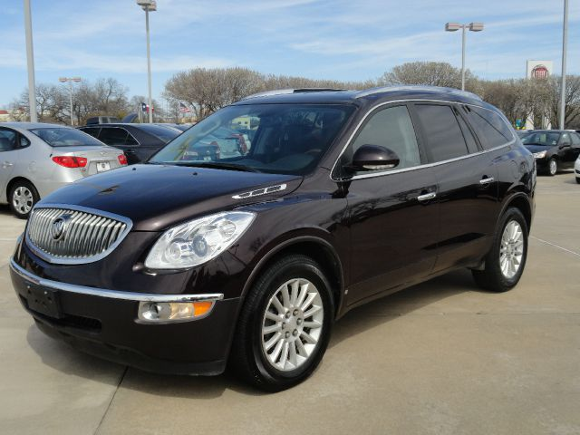 2009 BUICK ENCLAVE CXL AWD deep marroon beautiful deep marroon metallic buick enclave cxl with 3rd
