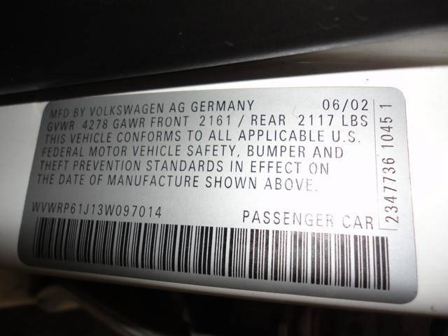 Image 41 of 2003 Volkswagen Jetta…