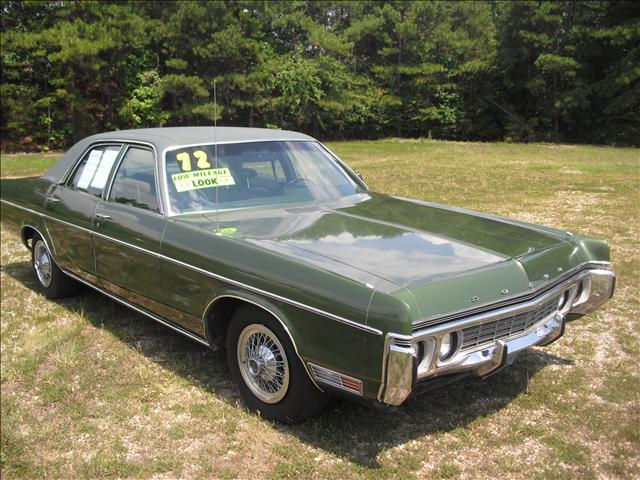1972 Dodge Polara M1f6 Cars For Sale In Georgia